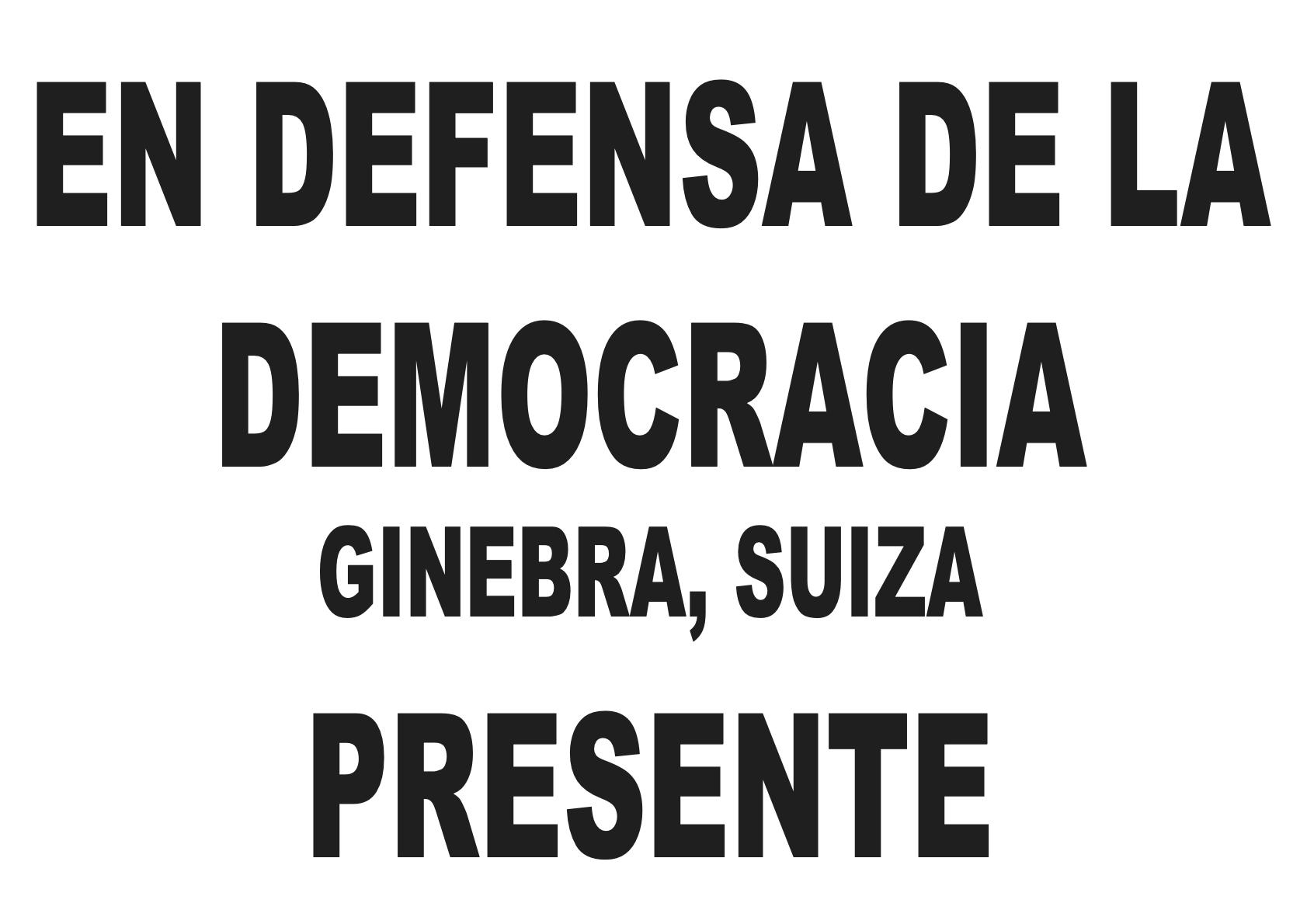 DefensaDemocracia